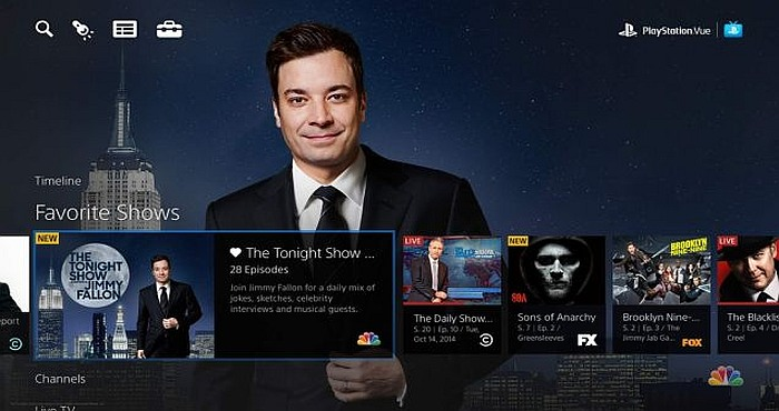 Sony PlayStation™ Vue Expands